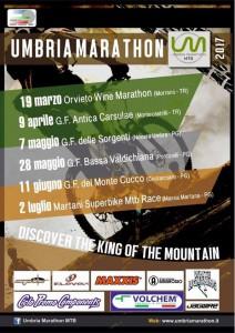 locandina umbria marathon 2017